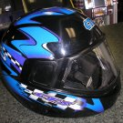 CTS FULL-FACE OFF ROAD HELMET - BIEFFE - MADE IN ITALY - NEW!