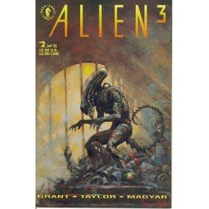 Alien 3 #2 (Dark Horse Comics) [Paperback] Steven Grant (Author), Christopher Taylor (Illustrator)!