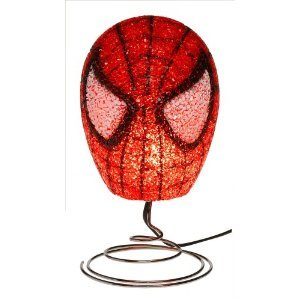 """SPIDER-MAN EVA DECORATIVE LAMP - MARVEL - GIVE ANY ROOM THAT COOL, ADVENTUROUS, """"WEBBIE"""" LOOK!"""