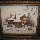 """Genuine Hand Painted """"ARTINI SCULPTURED ENGRAVING"""" Four Dimensional Twin Etched Art Piece!"""