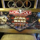 STAR WARS EPISODE 1 COLLECTOR EDITION MONOPOLY 3-D GAME with COLLECTIBLE TOKENS by HASBRO!