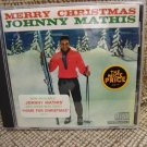 MERRY CHRISTMAS  JOHNNY MATHIS CD - THE BEST CHRISTMAS CD EVER MADE - A MUST HAVE!