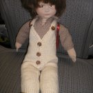 "KAREN (KARIN) HELLER ""JAMES"" CLOTH DOLL from THE 1980'S - RARE & EXCELLENT CONDITION - #12/1000!!"
