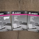 "AVERY 5164 WHITE SELF-ADHESIVE LASER LABELS - 3 1/3 x 4"" by Avery - 600 LABELS - NEW OLD STOCK!"