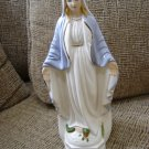 LEFTON VIRGIN MARY BLESSED MOTHER MADONNA PLANTER STANDING w/ OPEN ARMS from 1985 - BEAUTIFUL!