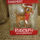 AMERICAN GREETINGS RUDOLPH THE RED NOSED REINDEER CHRISTMAS ORNAMENT BRAND NEW IN BOX!