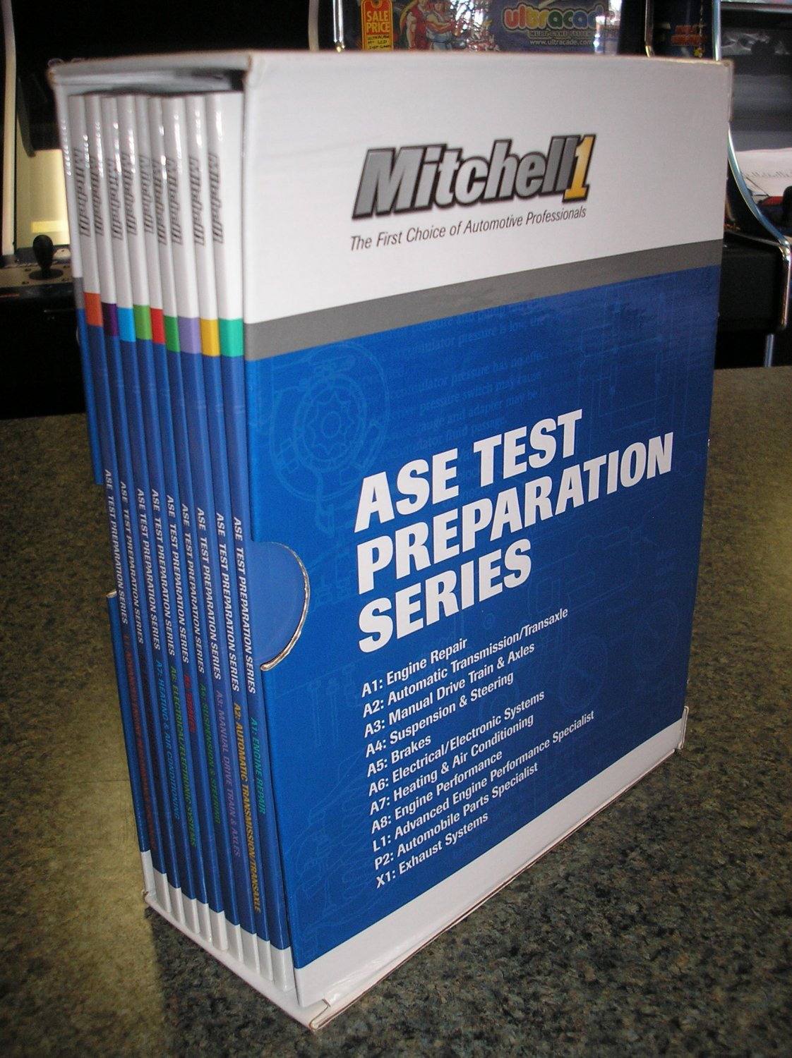 The Mitchell Ase Test Preparation Series Slipcase Edition 2004