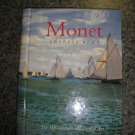 "MONET ADDRESS BOOK - METROPOLITAN MUSEUM OF ART ""REGATTA AT SAINTE-ADRESSE"" SPIRAL BOUND - WOW!"
