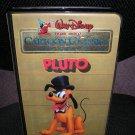 WALT DISNEY CARTOON CLASSICS LIMITED GOLD EDITION:PLUTO VHS TAPE-1984-in FACTORY PLASTIC-SUPER RARE!