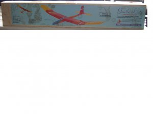 GENTLE LADY 2-METER SAILPLANE GLIDER KIT SP4 No. 60 by CARL GOLDBERG MODELS, INC.-BRAND NEW IN BOX!