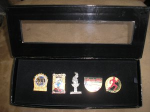 1896-1996 Centennial Olympic Games Collection of Five 1996 Atlanta Games Pins - NEW!