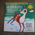 RUDOLPH THE RED-NOSED REINDEER 45rpm 1966 - Wonderland Record - WOW!