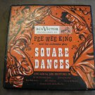 Pee Wee King and His Orchestra Play Square Dances 3 45 RPM RCA WP-256- WOW!