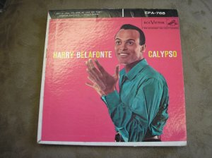 Calypso Harry Belafonte 45 RPM record - 1956 - WOW!