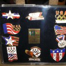 Official 1996 Olympic Games Collection of Ten 1996 Atlanta Games Pins - NEW!