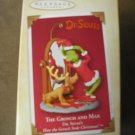 2004 THE GRINCH and MAX - HALLMARK DR. SEUSS KEEPSAKE ORNAMENT #QXI8534 - NEW!