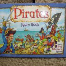 PIRATES JIGSAW BOOK with FIVE 48-PIECE JIGSAWS by THE FIVE MILE PRESS!!