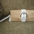 COACH LEATHER CLUTCH WRISTLET PURSE/WALLET No. L33-6694 - NEEDS CLEANING - AUTHENTIC!