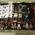 JEWELRY LOT #6 of COSTUME JEWELRY - 100+ PCS - GREAT FOR NEW CONSIGNMENT SHOP or VINTAGE BOUTIQUE!