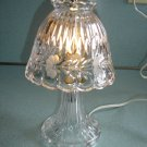 "PRINCESS HOUSE ""HERITAGE"" CRYSTAL ROMANCE ""BOUDIOR"" LAMP- 24% LEAD CRYSTAL - MADE in WEST GERMANY!"