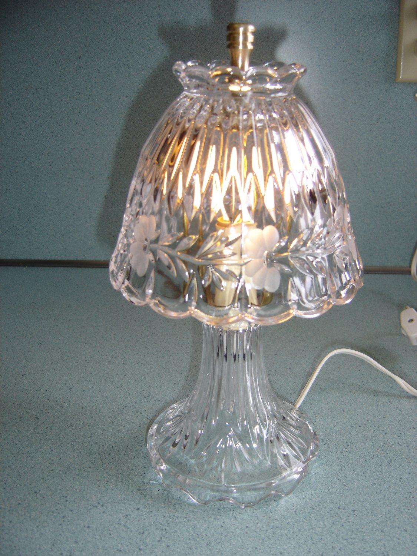 Princess House Quot Heritage Quot Crystal Romance Quot Boudior Quot Lamp