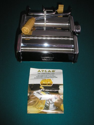 MARCATO by ATLAS Model 150 PASTA MAKER -  Made in Italy - WORLD'S #1 PASTA MACHINE!