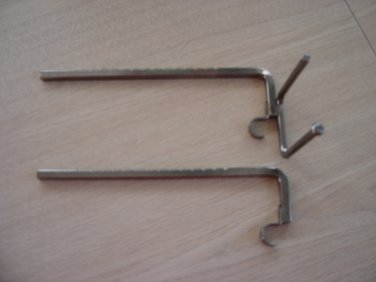 FARBERWARE OPEN HEARTH ROTISSERIE SPIT SUPPORT BRACKETS!