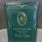 Mother's Instructions To The Baby Sitter-Checklist & Important Information Book/Pad Set-VINTAGE!