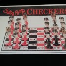 Betty Boop Checkers by Big League Promotions - 3 Dimensional playing pieces complete with Crowns!!