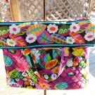 VERA BRADLEY VA VA BLOOM CONVERTIBLE CROSSBODY TOTE SHOULDER MESSENGER BAG/PURSE!