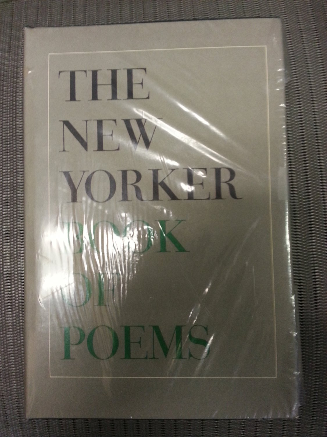The New Yorker Book of Poems Hardcover by The New Yorker !