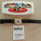 "LOONEY TUNES ""TWEETY & SYLVESTER"" MUSICAL WATCH by ARMITRON COLLECTIBLES!"