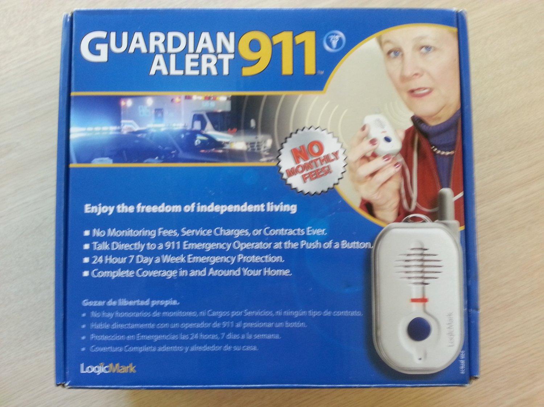 Logicmark Guardian Alert 911 Personal Security Emergency