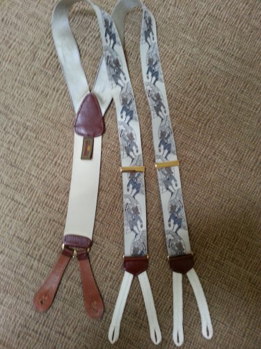 TRAFALGAR LIMITED EDITION �IT�S A DOG EAT DOG WORLD� SUSPENDERS/BRACES - EXCELLENT CONDITION!