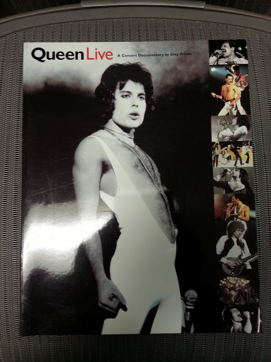 Queen Live: A Concert Documentary Paperback by Greg Brooks in EXCELLENT condition!