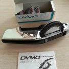 Vintage DYMO 155 Chrome Professional LABELMAKER w/ EXTRA WHEELS TAPE & MANUAL!