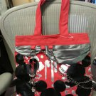 Disney Mickey Mouse Large Tote with CHAINS & CHARMS - NEW WITHOUT TAG!