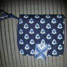 Vera Bradley Mini Zip Wallet Nantucket Blue - RETIRED!