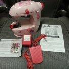 Barbie Lightweight Portable Sewing Machine by Jamac!