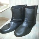 Vintage Totes Town Boots - 100% Rubber Overshoes - Size Large - Protect Dress Shoes - Made in USA!