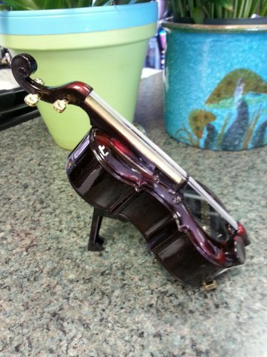 Cello Music Box Lighter!