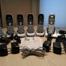 UNIDEN DECT 6.0 Cordless Digital Answering System with Caller ID - 6 Handsets!