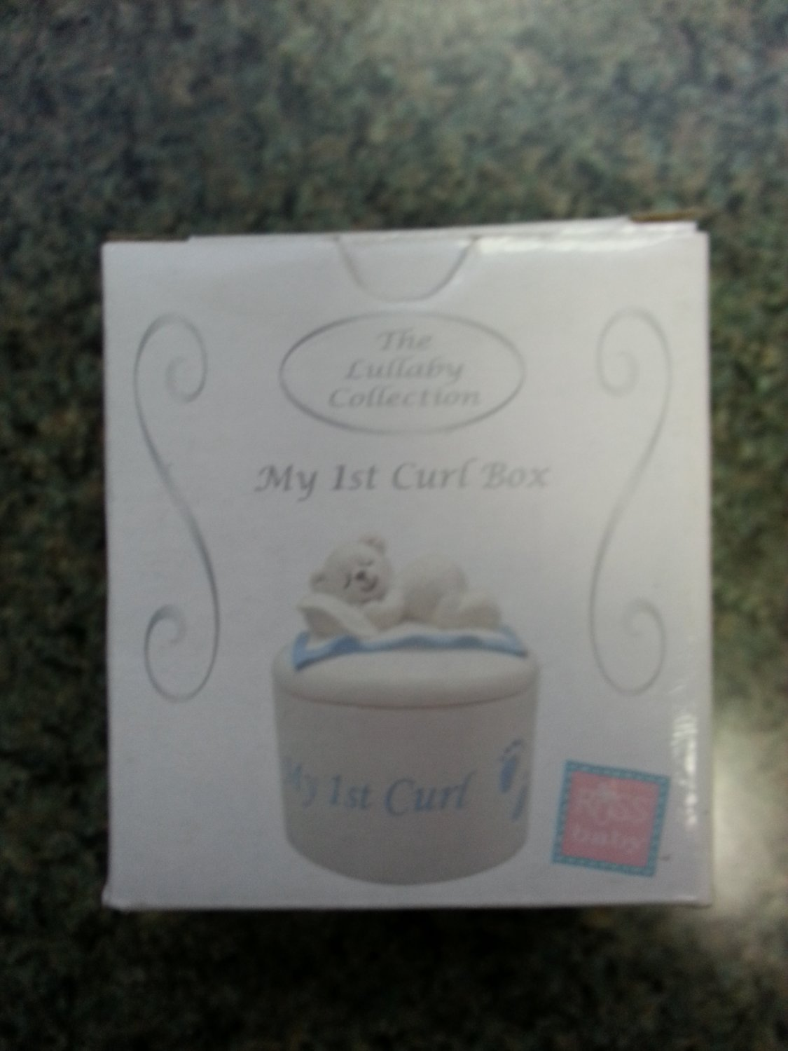 Russ Berrie The Lullaby Collection My 1st Curl Keepsake Box!