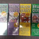 BRAIN QUEST CARD SET DECKS - LOT OF 4 - For the Car/Kindergarten/For Threes/Preschool!