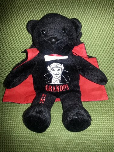 The Munsters Grandpa Promo Limited Edition Beanie Bear by Dart Flipcards, Inc.!