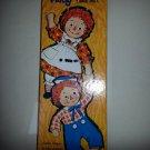 RAGGEDY ANN & ANDY MAGIC PAPER DOLLS by WHITMAN 1968 NIB!