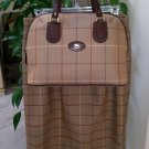 Vintage Authentic Burberry Tote w/ Matching Skirt & Extra Fabric purchased in UK in the 1980's!