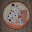 The Disney Collection Disney's Magic Memories Collections 101 Dalmations 3D Relief Plate!