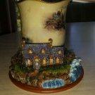 Thomas Kinkade Welcoming Lights Inspirational Lighthouse Candleholder Coll - Light of Tranquility!
