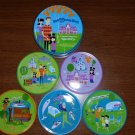 Walt Disney World - 40th Anniversary Collection - Shag Artwork Drink Coasters!
